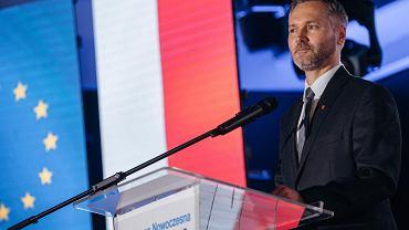 Stadion Energa. Konwencja Platformy Obywatelskiej i Nowoczesnej. Na zdj. Jarosław Wałęsa - kandydat na prezydenta Gdańska.