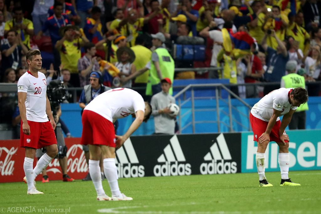 Mecz Polska - Kolumbia na Mundialu