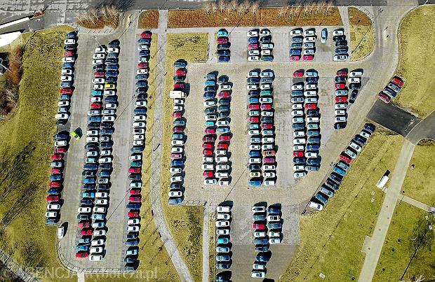 Parking w Strefie Kultury w Katowicach