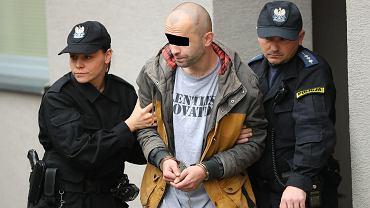 Konrad K., podejrzany o atak z nożem w ręku w galerii VIVO w Stalowej Woli