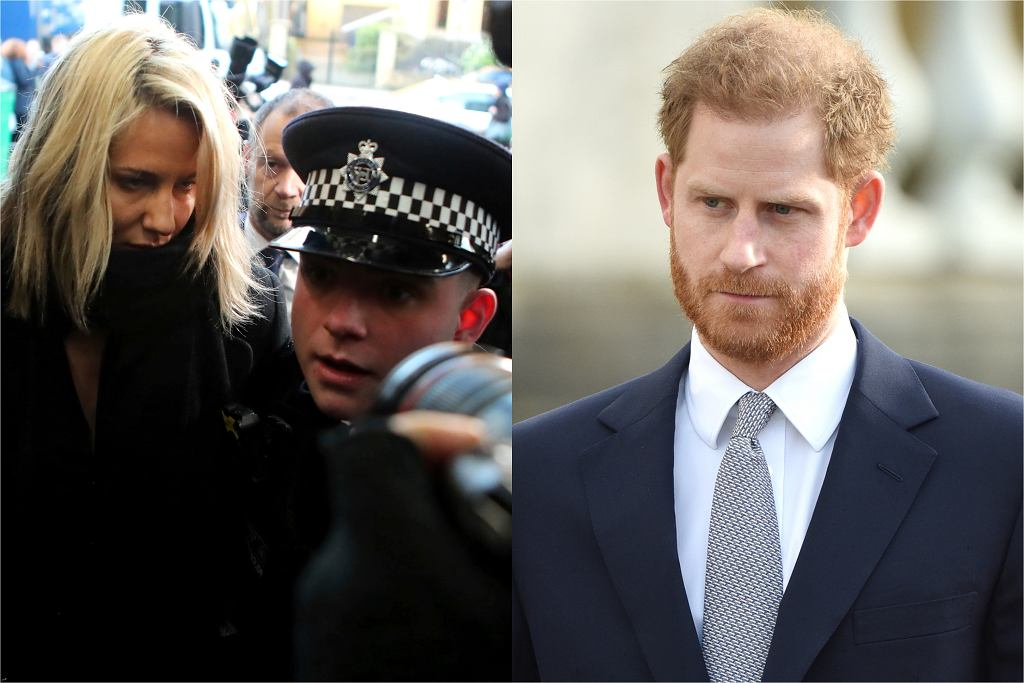 Caroline Flack i książę Harry