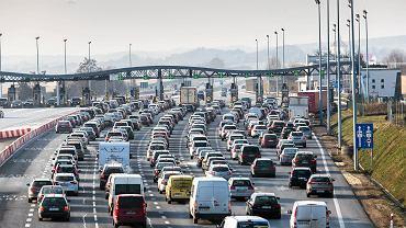 Punkt poboru opłat na autostradzie (zdj. ilustracyjne)