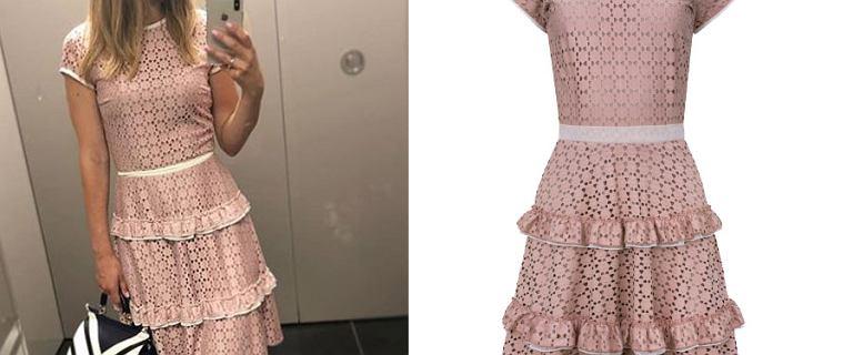 Paulina Sykut w przepięknej, koronkowej sukience. Kupicie ją u nas! To idealny model na komunię czy randkę