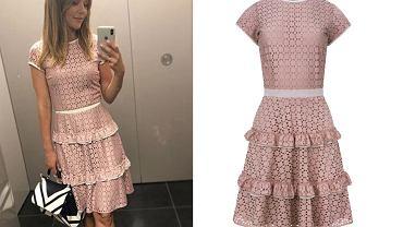 Koronkowa sukienka, mat. partnera, fot. www.instagram.com/paulinasykutjezyna