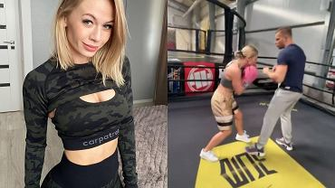 Kasia Dziurska od dwóch miesięcy trenuje boks