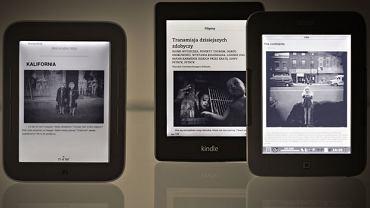 Test e-readerów: co warto kupić
