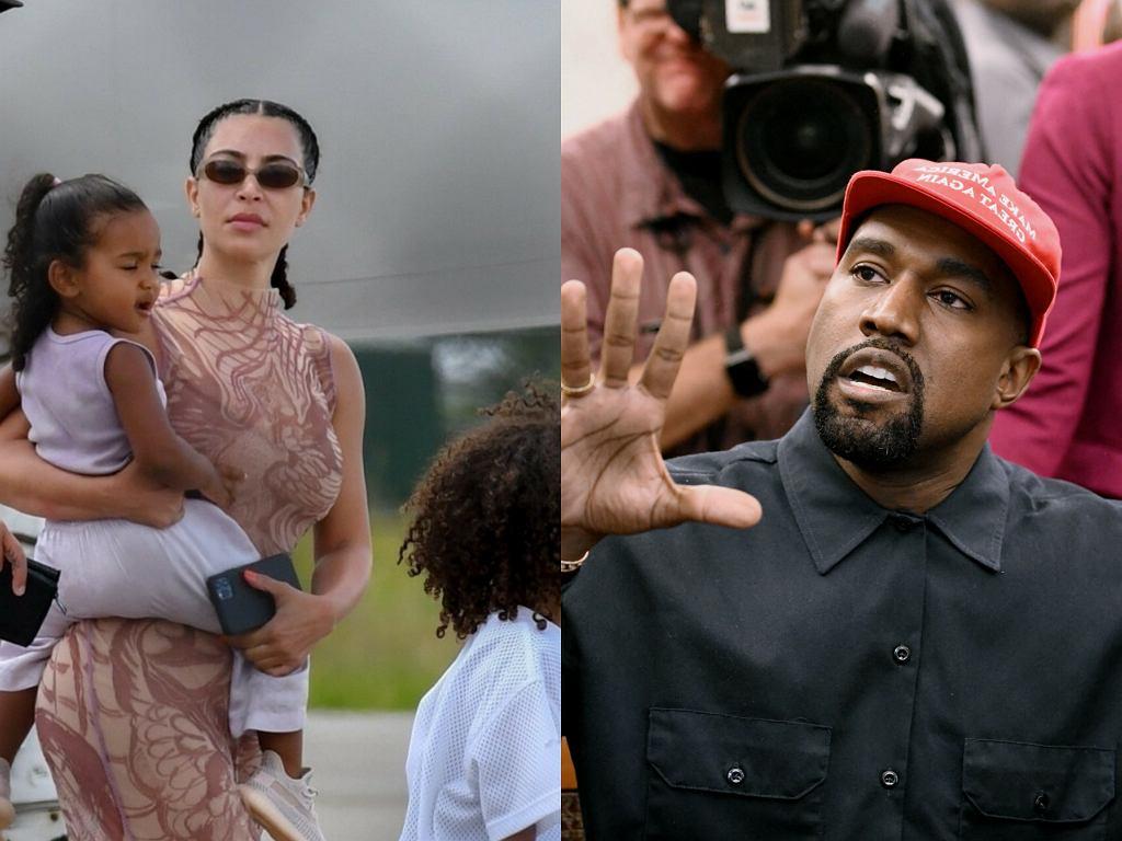 Kim Kardashian nie odbierze Kanye Westowi praw rodzicielskich