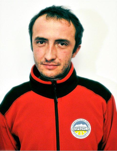 Szczepan Żurek, jeden z pomysłodawców Pierwszej Polskiej Zimowej Ekspedycji w Warszawie