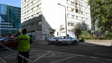 Warszawa. Wybuch gazu w bloku przy ul. Śliskiej 10