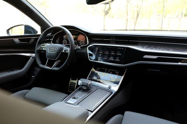 Audi A7 55 TFSI Quattro  - wnętrze