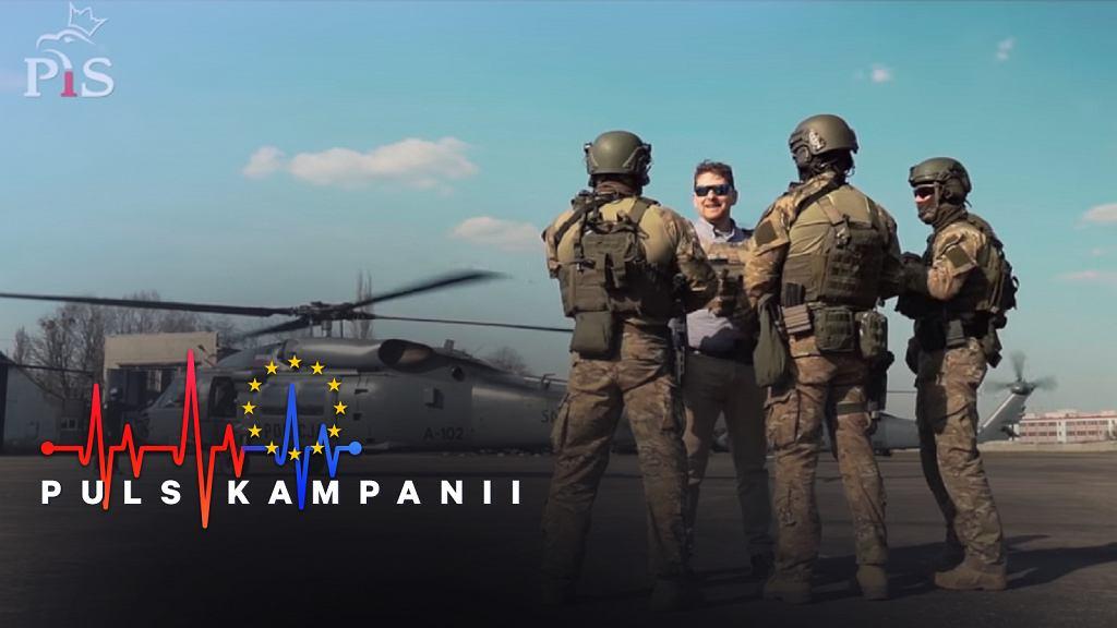 Wybory do Parlamentu Europejskiego 2019. Marek Opioła i Black Hawk w spocie wyborczym. 'Każdy mógł go wykorzystać'
