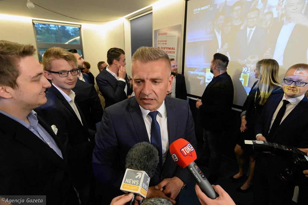 W sztabie Koalicji Europejskiej (Bartosz Arłukowicz)