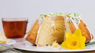 Ciasto na Wielkanoc, babka cytrynowa