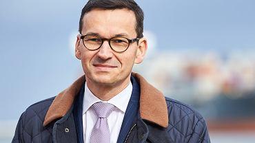 Premier Mateusz Morawiecki (fot. Jan Rusek/AG)
