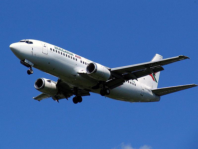Boeing 737 linii Bulgaria Air