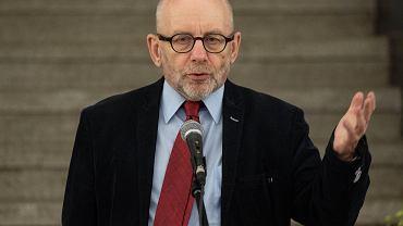 Profesor Paweł Śpiewak, dyrektor Żydowskiego Instytutu Historycznego