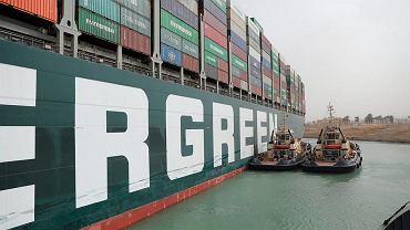 Egipt zarekwirował kontenerowiec Ever Given. Trwają negocjacje w sprawie wypłaty odszkodowania