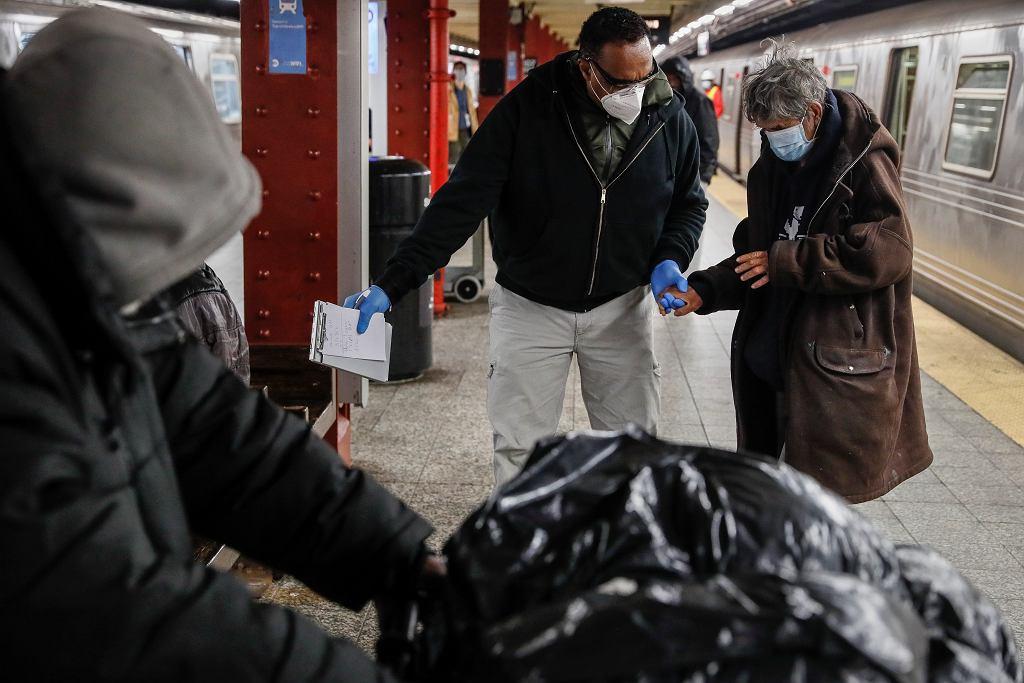 Problem bezdomności w USA.