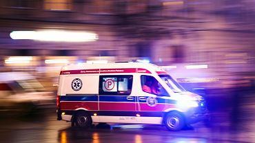 Śmiertelny wypadek na DK9 w Jacentowie. Jedna osoba nie żyje, trzy są ranne