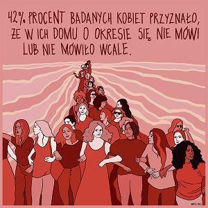 Menstruacja nawet w kobiecej narracji łączy się ze  wstydem i obrzydzeniem