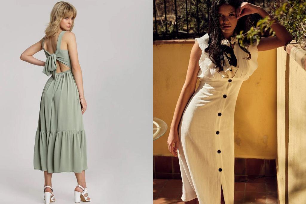Sukienki za kolano