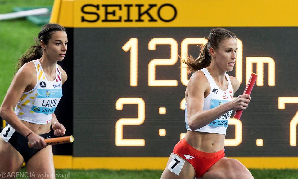 Zdjęcie numer 5 w galerii - Ponownie złota polska drużyna lekkoatletyczna, a w niej Kornelia Lesiewicz