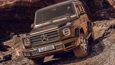 Nowy Mercedes Klasy G (przeciek)