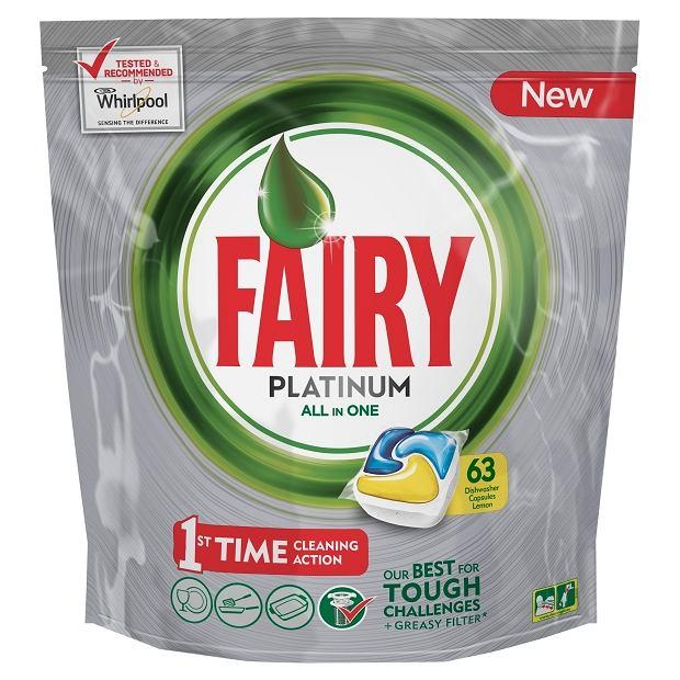 Fairy - tabletki do zmywarki Platinum All in One Lemon