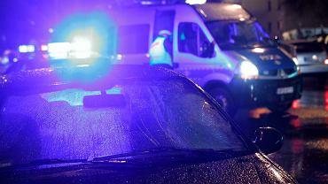 Pomorskie. Trwa obława policyjna (policja - zdjęcie ilustracyjne)