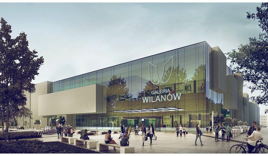 Wizualizacja Galerii Wilanów.
