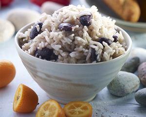 Jamajski ryż z fasolą (Rice and peas)