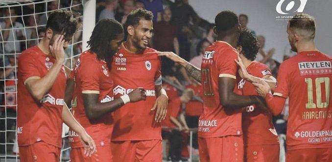 Royal Antwerp cieszyło się ze zwycięstwa 4:1