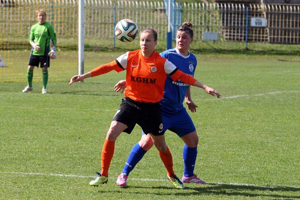 Ekstraliga piłki nożnej kobiet: TKKF Stilon Gorzów - Zagłębie Lubin 0:4 (0:1)