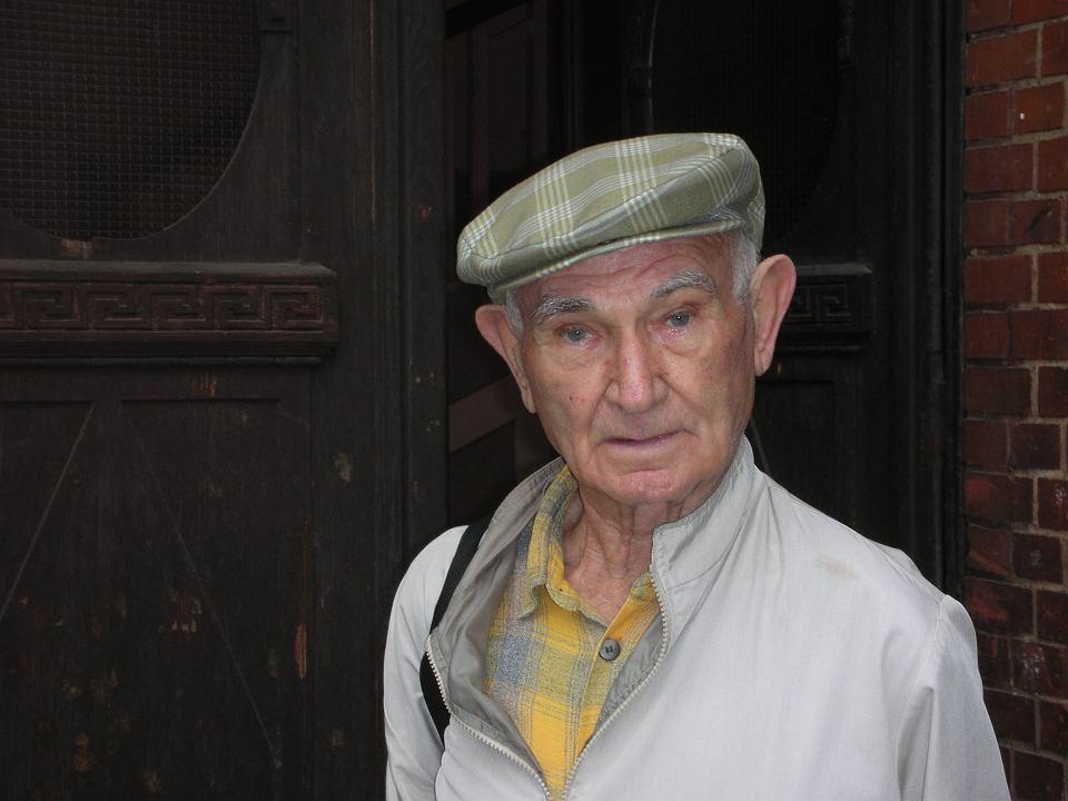 Noach Lasman - przed wojną mieszkał w Poznaniu. W późniejszych latach wracał. Zdjęcie z 2006 r.