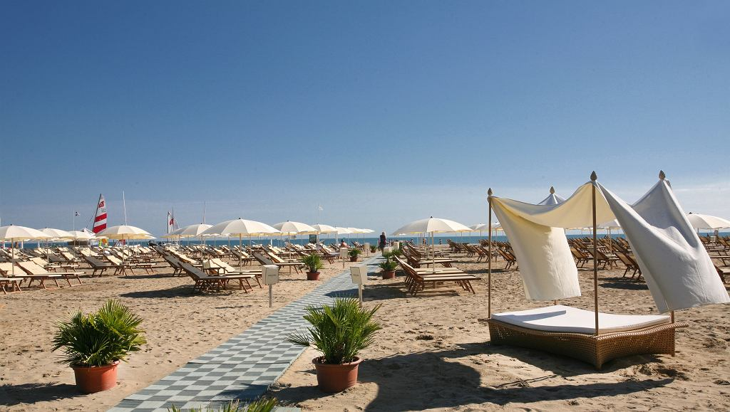 Plaża w Rimini