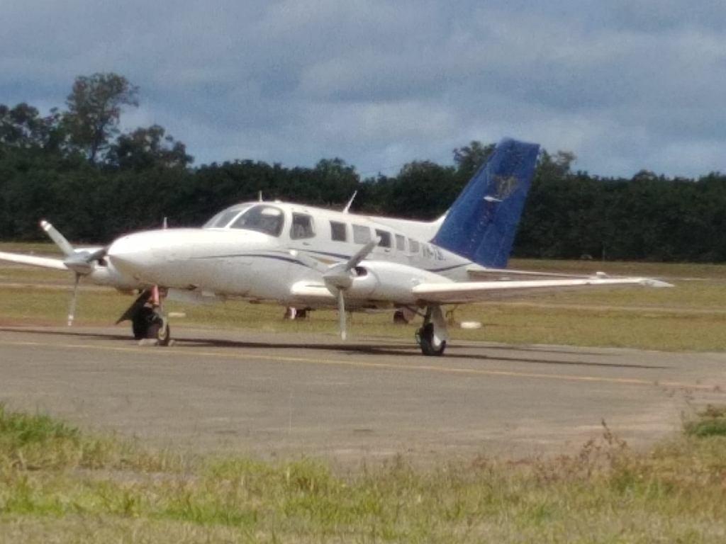 Samolot Cessna, który rozbił się przy próbie startu z narkotykami