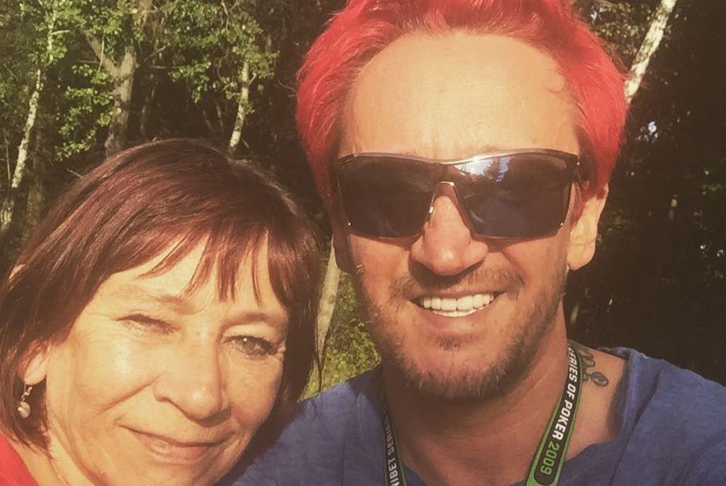 Michał Wiśniewski z mamą, Grażyną Wiśniewską