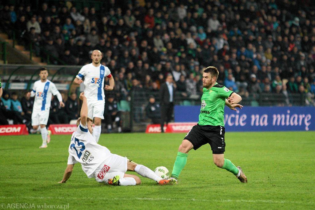 Górnik Łęczna - Lech Poznań 0:1. Łukasz Trałka, Paulus Arajuuri