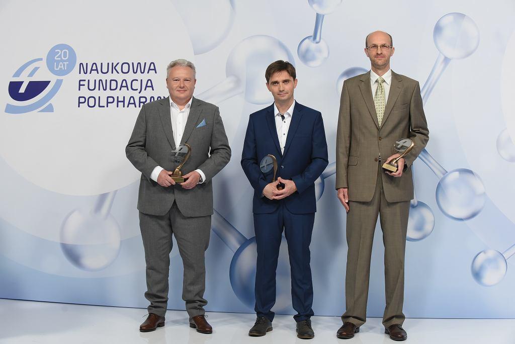 Prof. Rafał Pawliczak, prof. Paweł Majak, dr Jerzy Kotlinowski