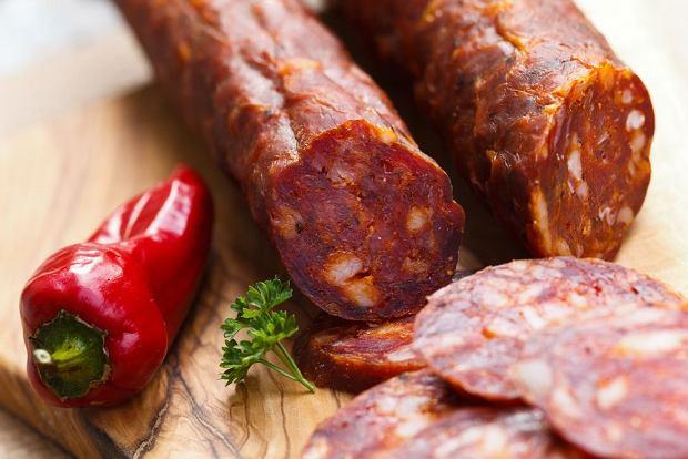 Chorizo - najlepsza kupiona w zwykłym hiszpańskim sklepie / fot. Shutterstock