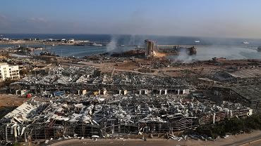 Do Bejrutu wyruszyła grupa polskich ratowników