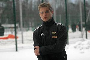 Piłkarz Lechii Gdańsk Adam Gołuński zdobył gola dla reprezentacji Polski