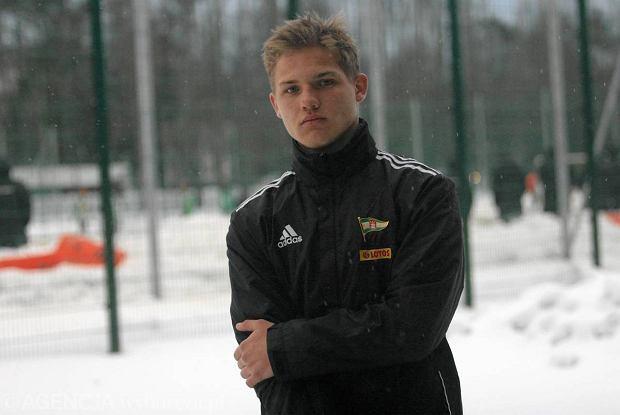 Piłkarz Lechii Gdańsk Adam Gołuński powołany do reprezentacji Polski