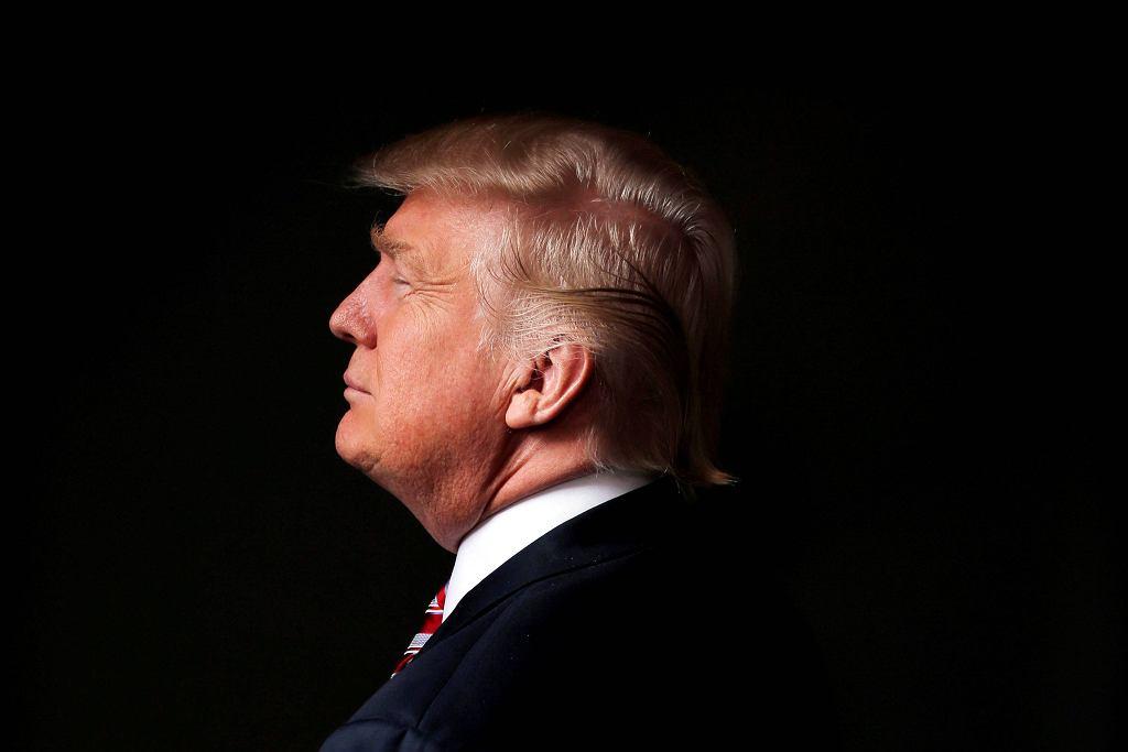 To zdjęcie zrobił Trumpowi reporter agencji Reuters po wywiadzie, którego polityk udzielił w należącym do niego wieżowcu Trump Tower na Manhattanie.
