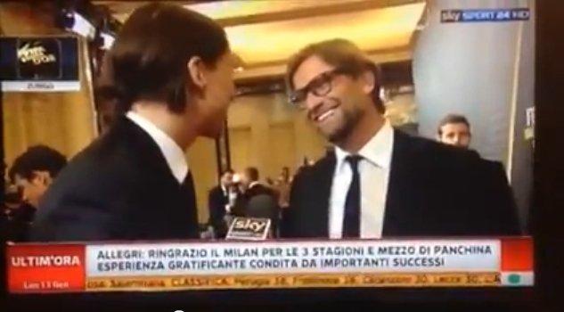Zlatan Ibrahimović i Juergen Klopp