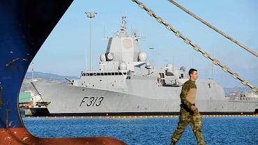 Norweska fregata Helge Ingstad zderzyła się z tankowcem na Morzu Północnym. Zdjęcie ilustracyjne