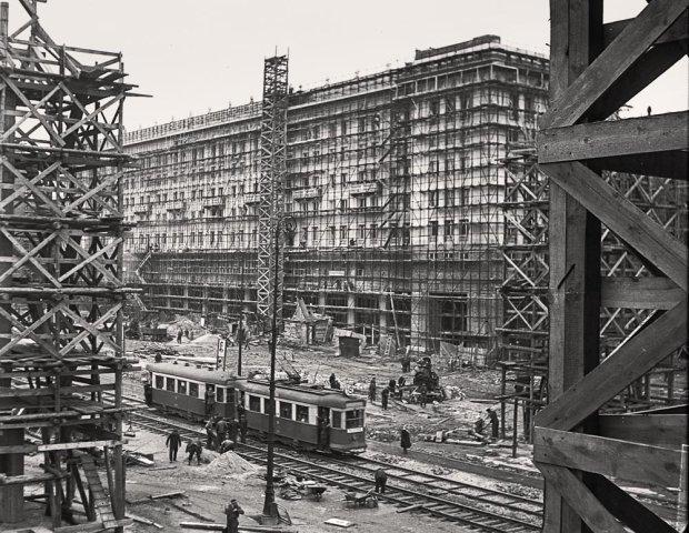 Budowa Marszałkowskiej Dzielnicy Mieszkaniowej
