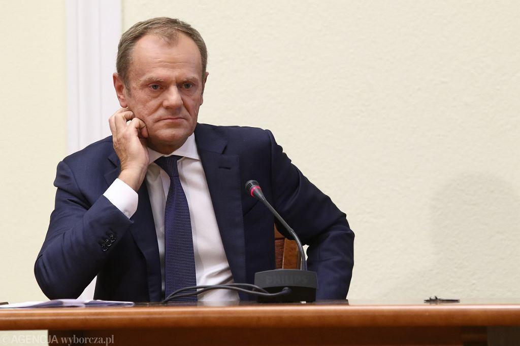 Przesłuchania Donalda Tuska przed komisją śledczą ds. Amber Gold