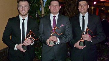 Silna ekipa ze Stilonu Gorzów. Od lewej: Dawid Dłoniak, Tomasz Jeż i Paweł Posmyk