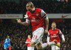 Premier League. Bendtner czekał na tę bramkę 1009 dni. Twitter szydzi
